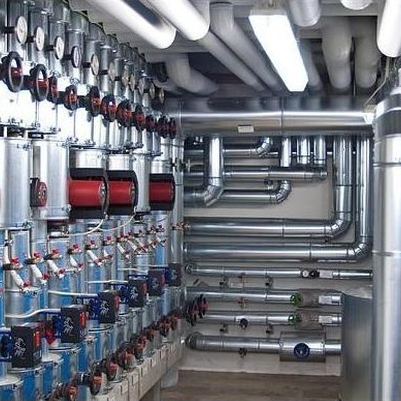 Mantenimiento de equipo de climatización industrial