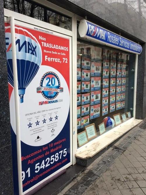 Venta y alquiler de oficinas, locales y garajes en Madrid