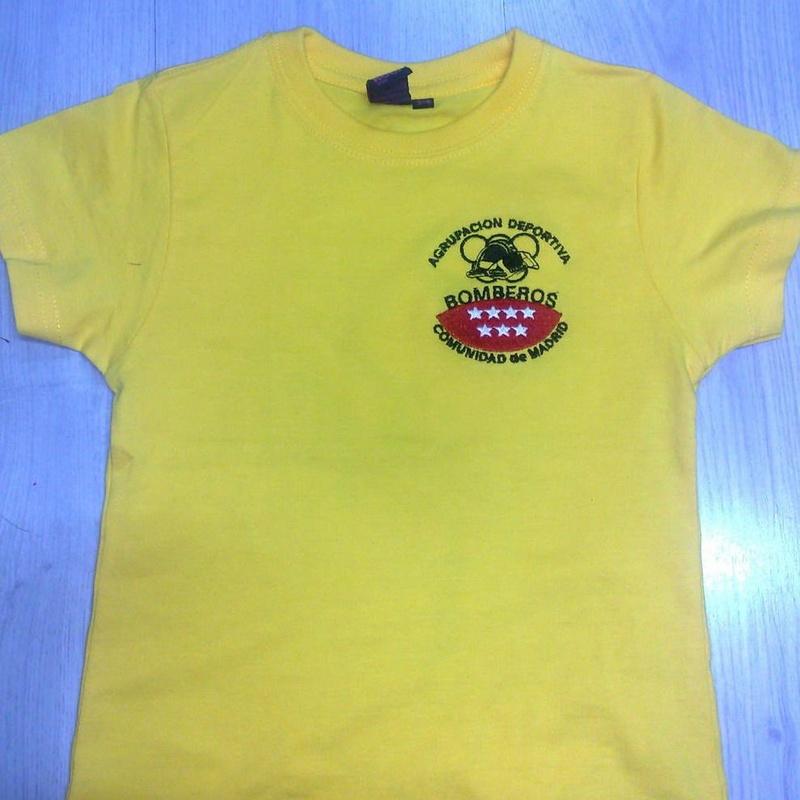 Camisetas bombero
