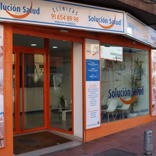 Centro de salud en San Sebastián de Los Reyes