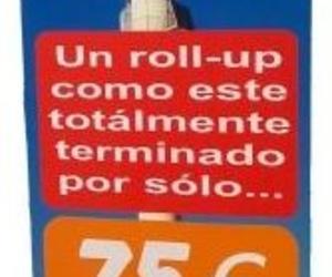banner, Roll-up de 85 x 200 cms