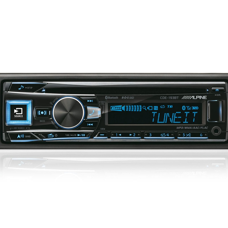 Radio cd ALPINE CDE190R