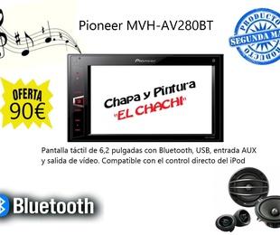 Pioneer MVH-AV280BT 90€