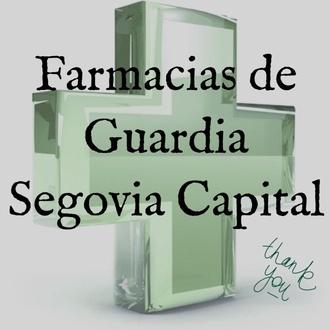 FARMACIA DE GUARDIA SEGOVIA CAPITAL 2018
