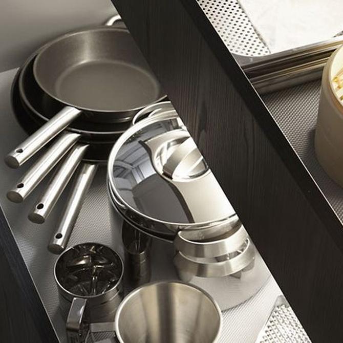 Apuesta por los gaveteros para tu cocina de diseño