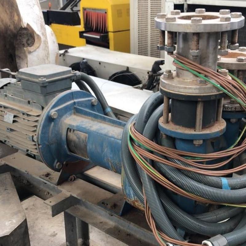 Bomba central de vacío con filtros de sólidos:  de MAQUIMUR