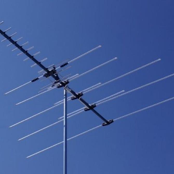 ¿Antena de techo o antena interior?