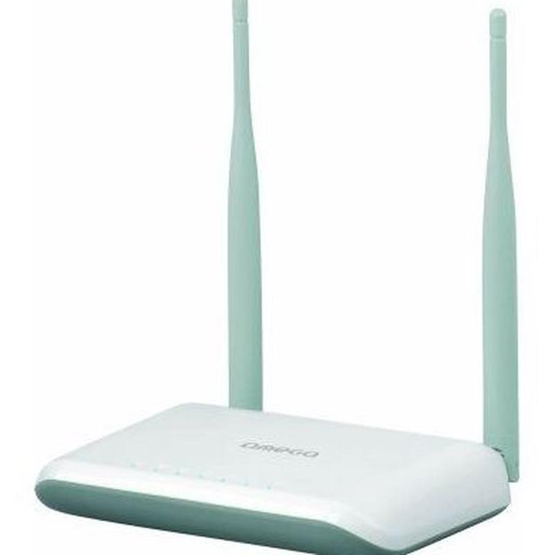 Omega OWLR307U Router WiFi 300N 1xWAN 4xLAN 2T2R : Productos y Servicios de Stylepc
