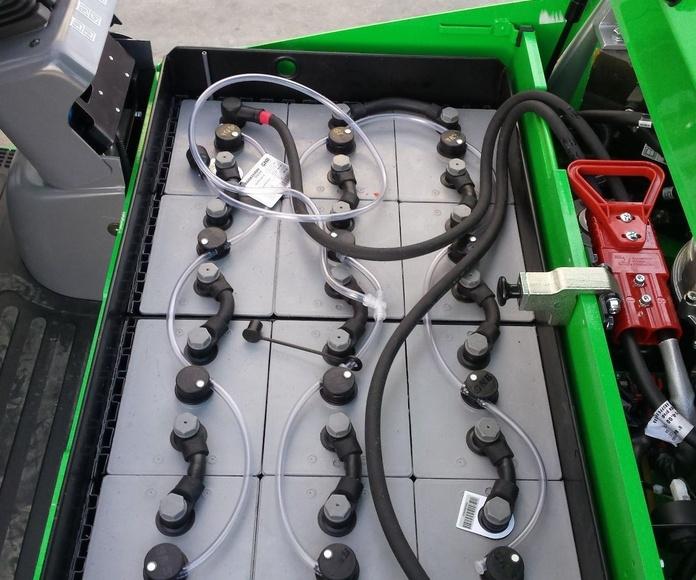 CARRETILLA ELEVADORA ELECTRICA B215: CATÁLOGO de HP Elevación
