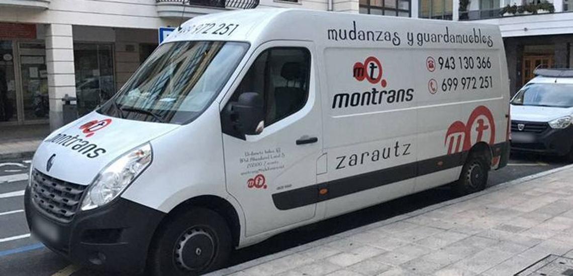 Empresa de mudanzas con precios ventajos en San Sebastián