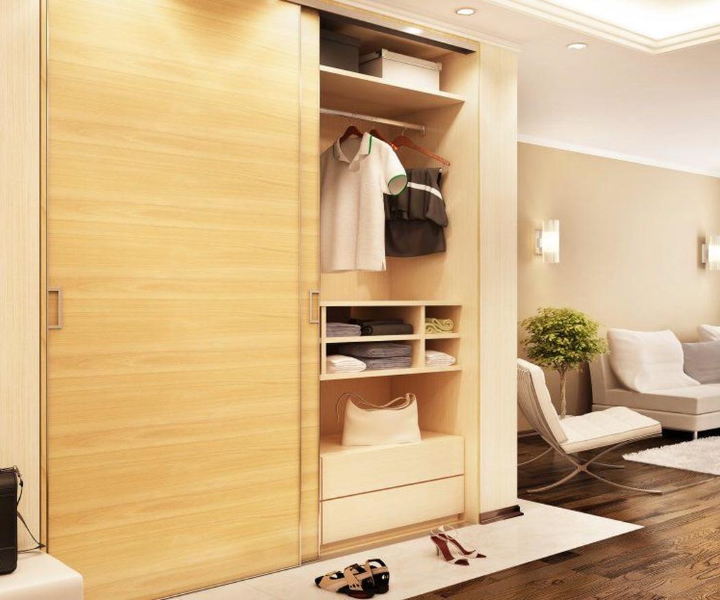 Cómo ordenar la ropa en armarios empotrados