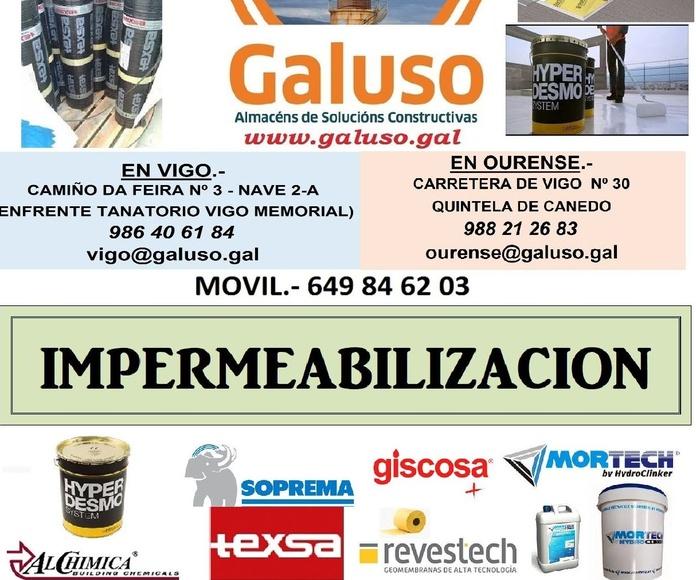 IMPERMEABILIZACION 2019-1: Catálogo de Galuso