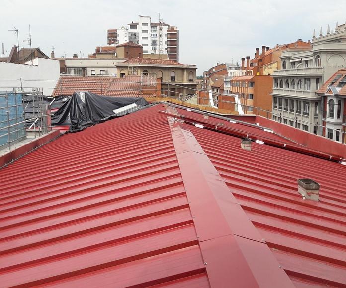 Cubiertas y tejados: Servicios de Traymo Construcciones y Reformas