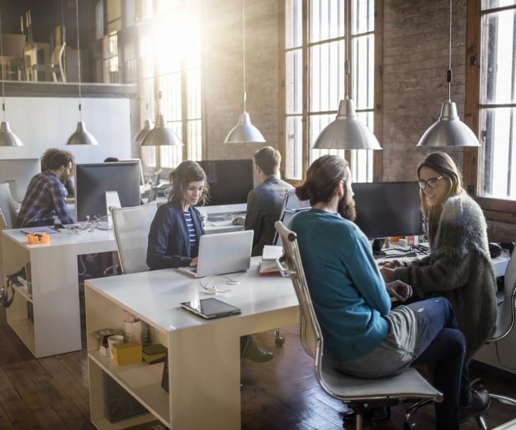 Lugar de trabajo bien acondicionado, aumento seguro de la productividad