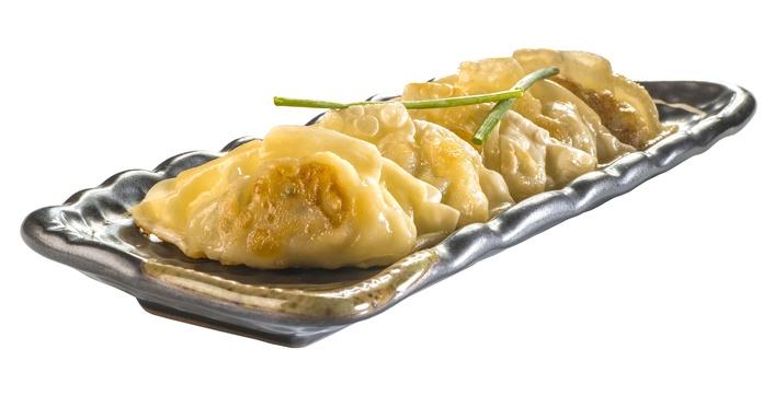 Gyoza de pollo y verdura  5,80€: Carta de Restaurante Sowu