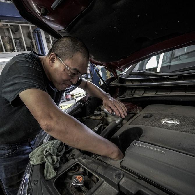 Cambiar el aceite del coche