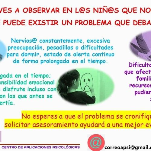 DETECTAR PROBLEMAS EN NIÑ@S
