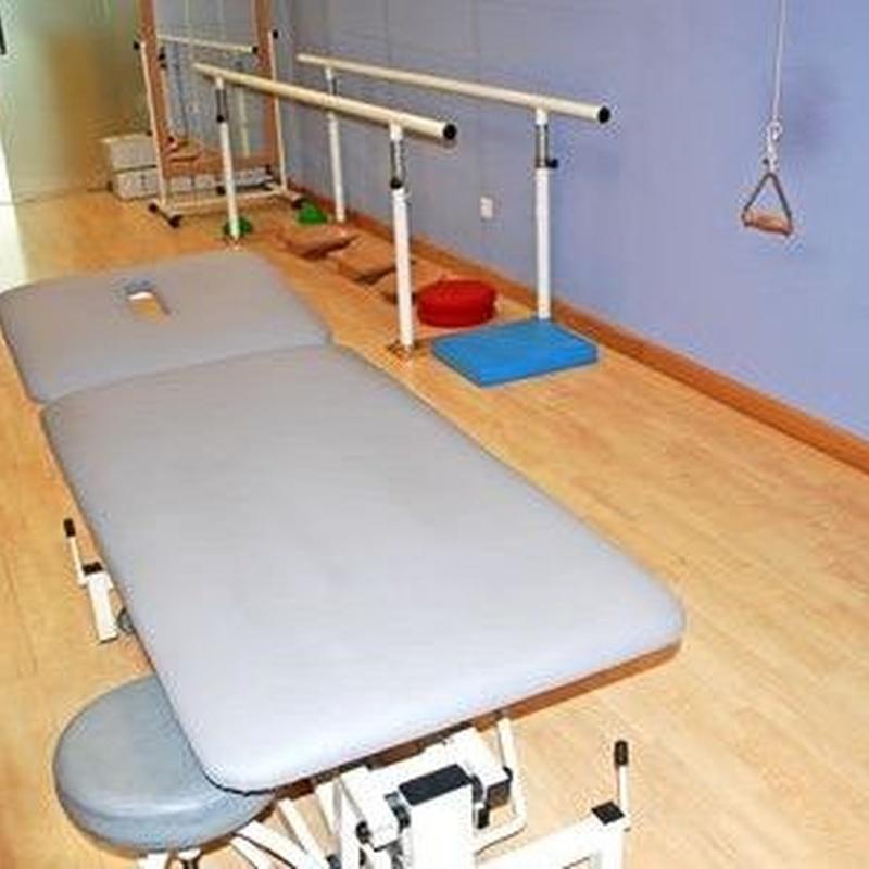 Fisioterapia: Servicios de Clínica de la Fuente