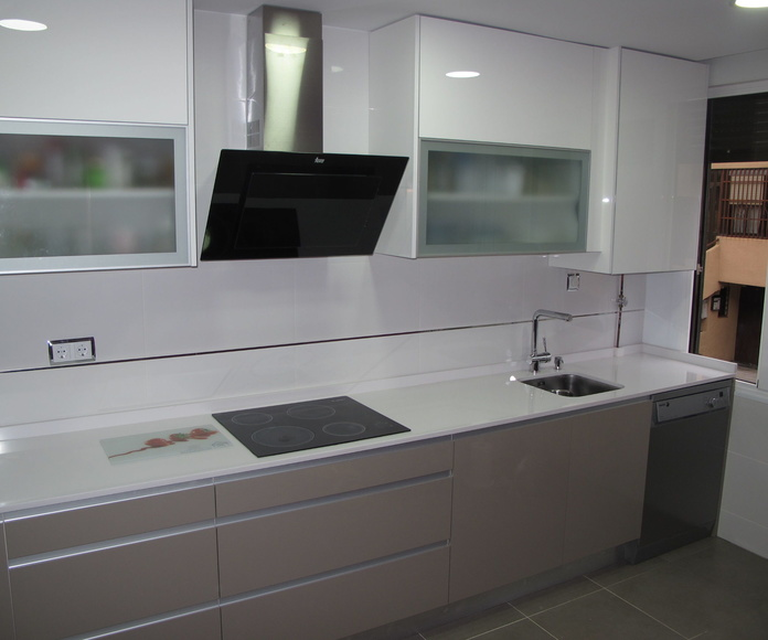 Diseños Cocinas MC Proyecto Realizado en Boadilla Del Monte: PROYECTOS REALIZADOS de Diseño Cocinas MC