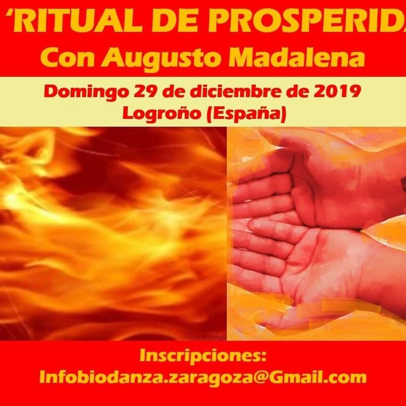 14º Ritual de Prosperidad en Logroño, con Augusto Madalena: CURSOS de Augusto Madalena