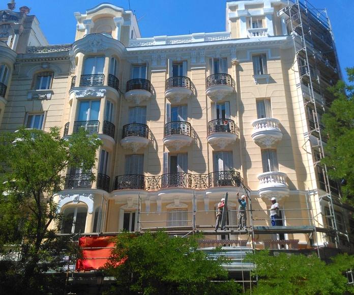 fachada Jose Oretaga y Gassett