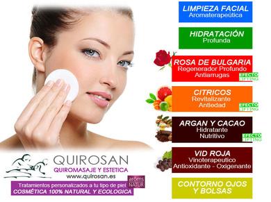 Cuidate la piel con nosotros! Cosmetica 100% natural.
