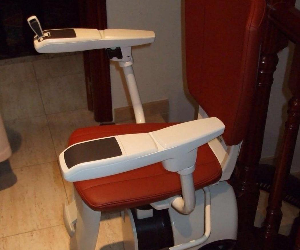 Tipos de asientos para sillas salvaescaleras