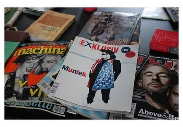 Libros, revistas y catálogos