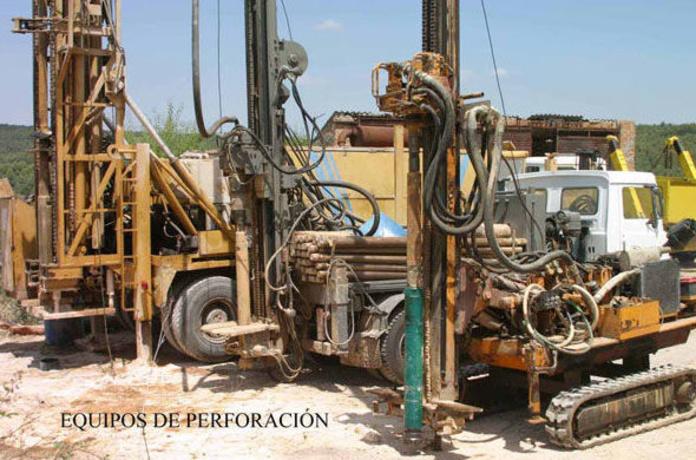 equipos de perforación de pozos
