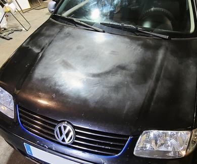 VW Polo 6N2 - Pulir capó