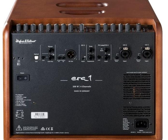 Hughes & Kettner Era 1, un nuevo ampli de acústica diseñado por Michael Eisenmann