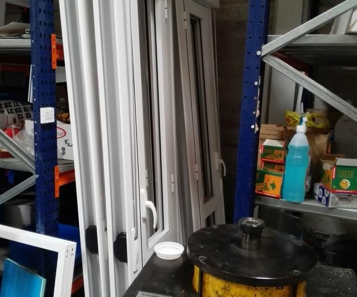 ventanas de aluminio rotura puente térmico antes de la instalación