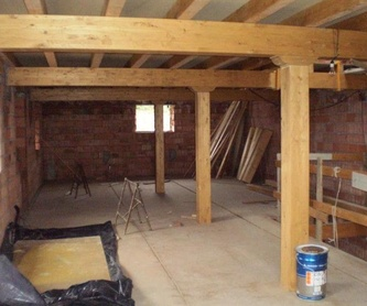 Porches con cristal: Trabajos en madera de Carpintería San Andrés