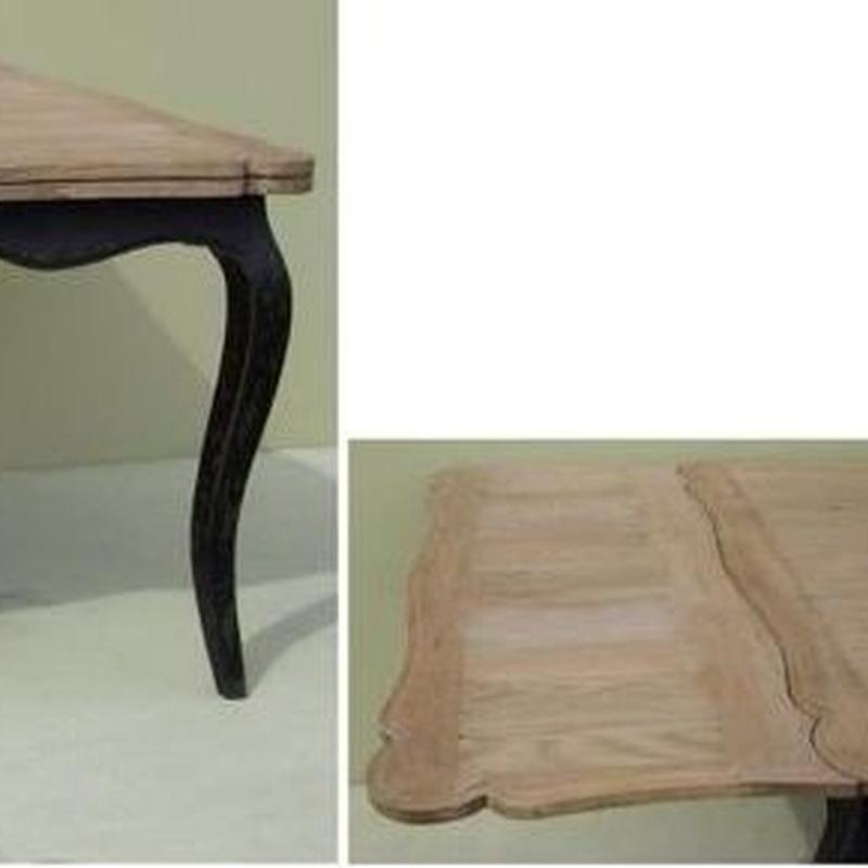 Mesa comedor tapa de madera maciza:  de Ste Odile Decoración