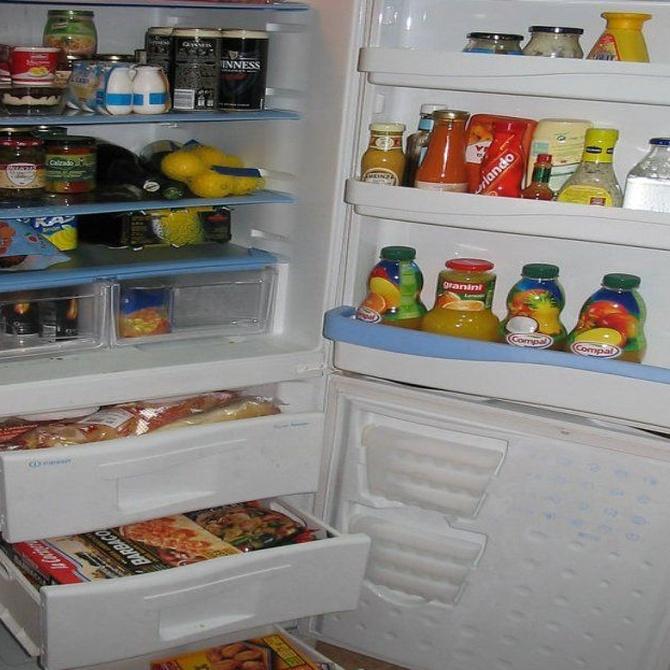 Distribuye así los alimentos en la nevera