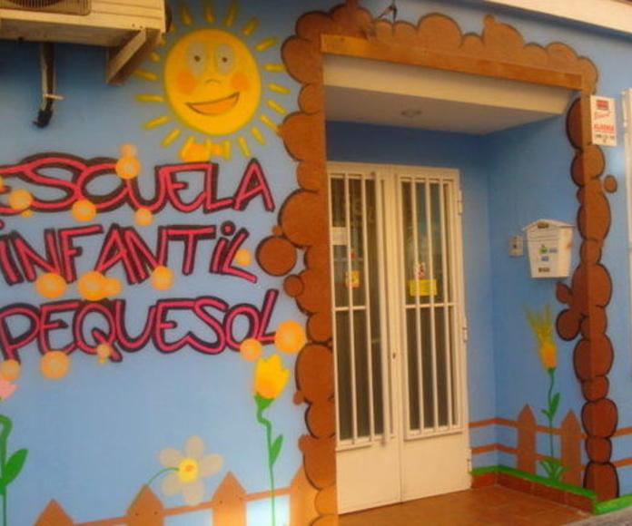 El centro y sus aulas: Servicios de Escuela Infantil Pequesol
