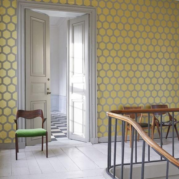 Papel pintado geométrico Vigo