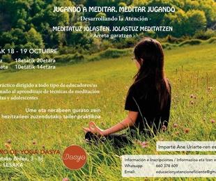 TALLER - Jugando a Meditar-Meditar Jugando