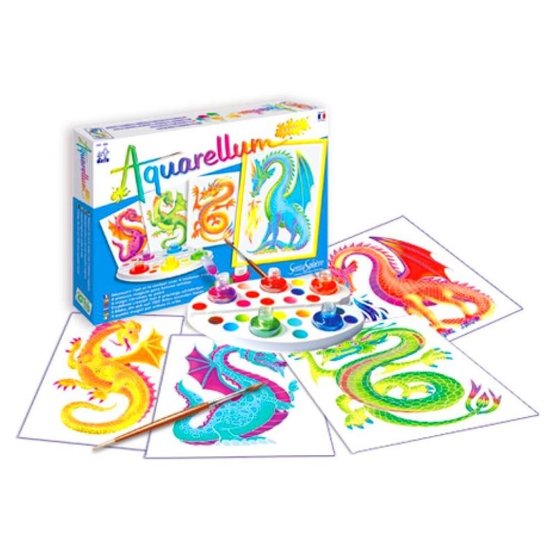 Aquarellum junior dragones. 3373910006934