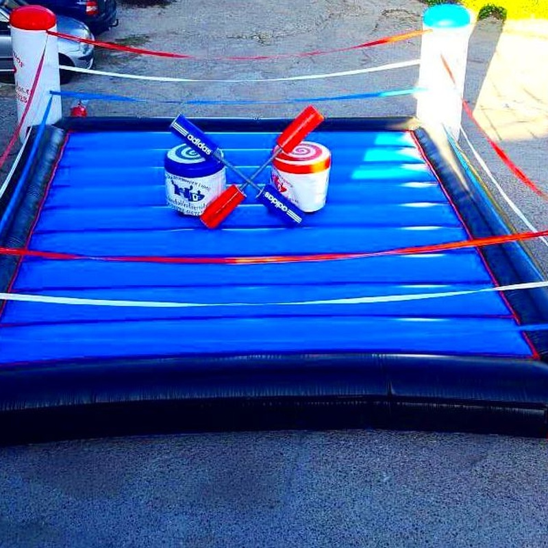 Lucha de gladiadores: Catálogo de Hinchables Happy Jump