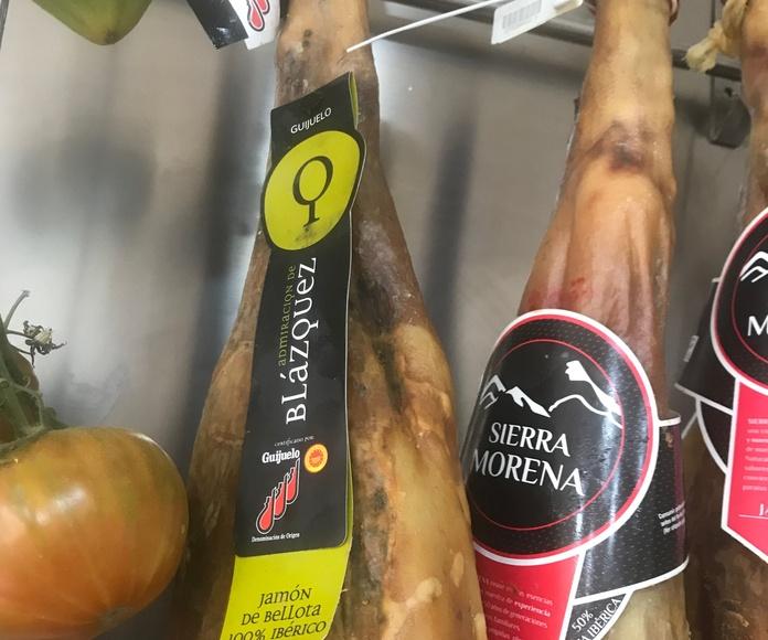 Jamones 100% bellota: Productos de Jamonería Quesería Sabor Ibérico