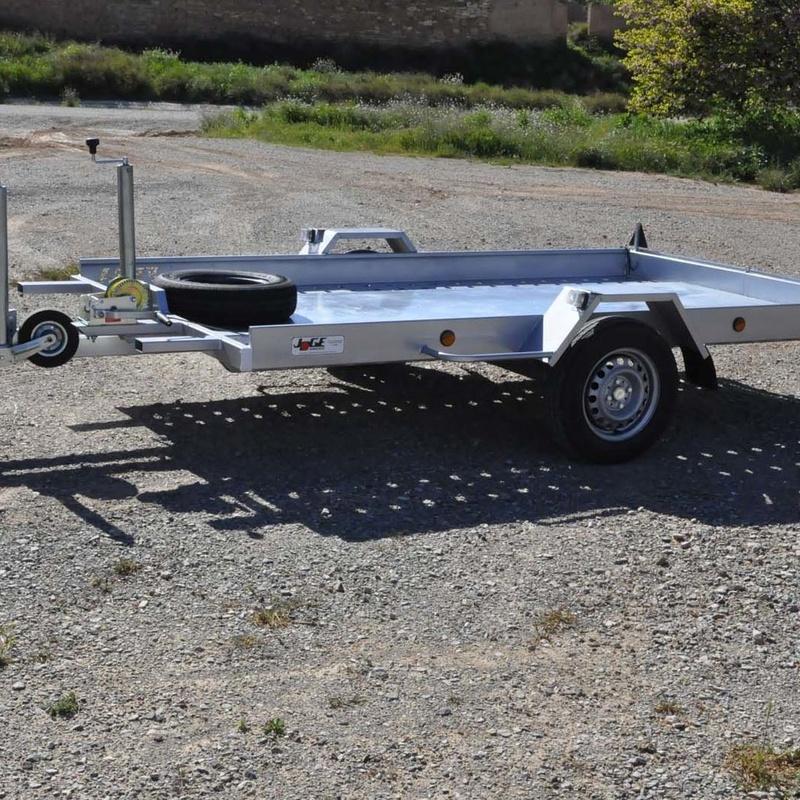 Plataforma basculante coches pequeños - Remolques JOGE