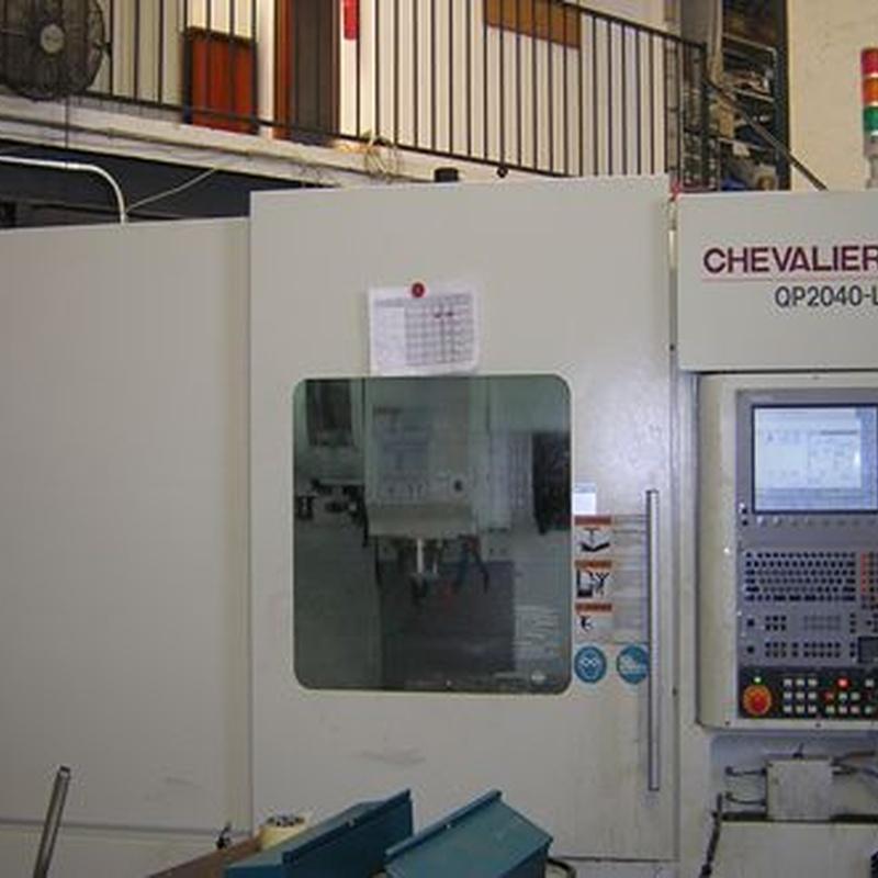 CNC3 CHEVALIER: Servicios de GMB Inducción, S.L.