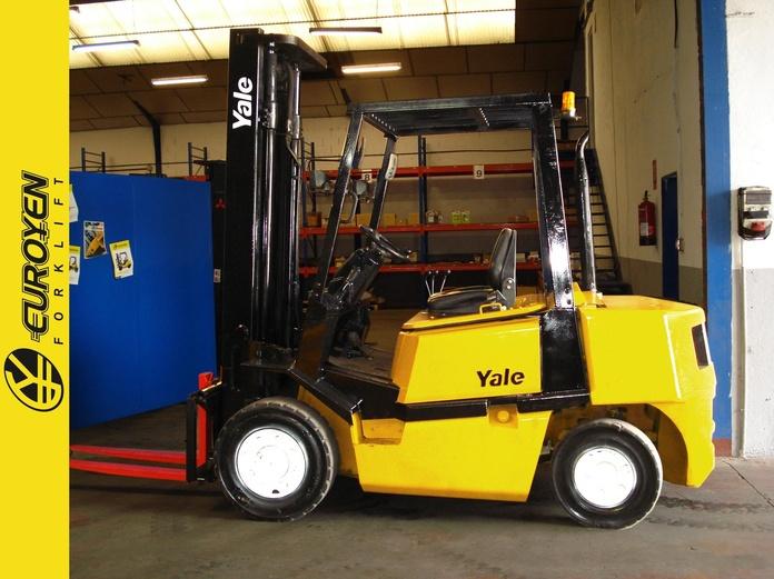 Carretilla diesel YALE Nº 5607: Productos y servicios de Comercial Euroyen, S. L.