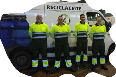 Estrenamos nueva equipación para el personal de recogidas aceites usados vegetales de Reciclaceite