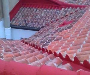 Formación de cubiertas inclinadas con teja.
