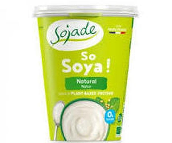 Yogur soja natural SOJADE 400gr: Productos de Bionatura