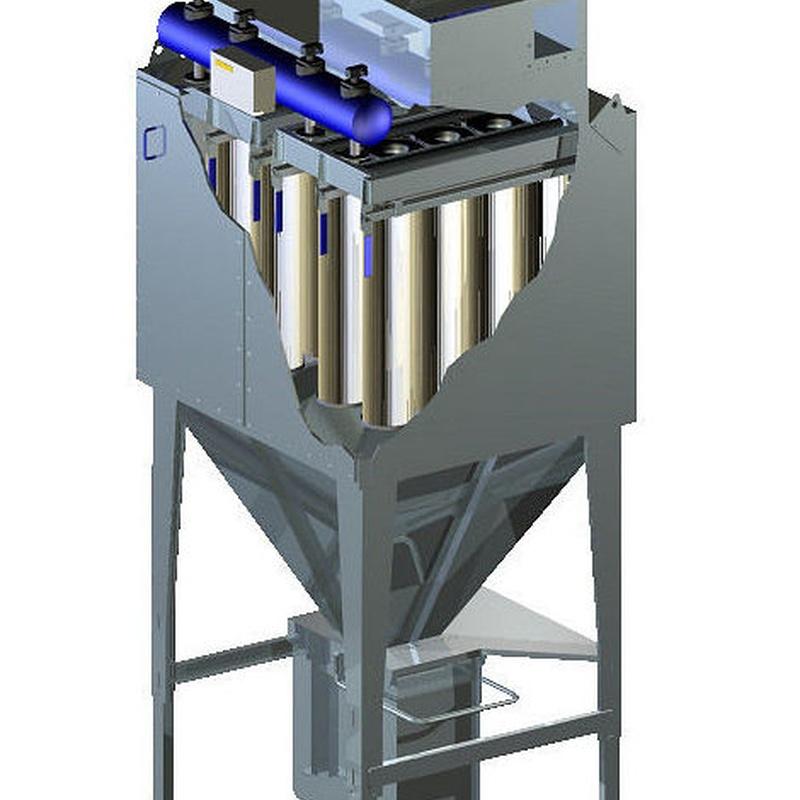 Filrtro FMC componentes