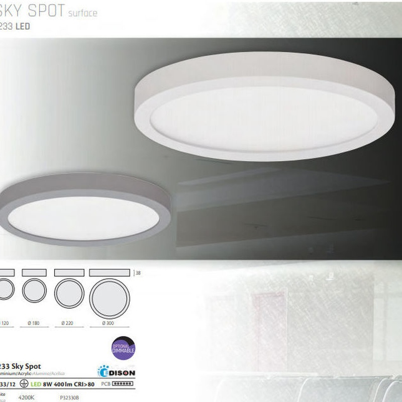 Plafón LED SKY SPOT: Productos de Mercurio Alumbrado