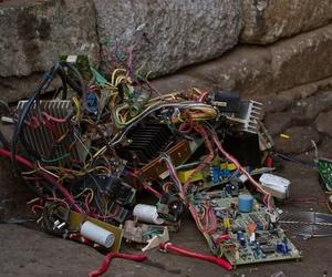 Los problemas que la chatarra electrónica produce a la naturaleza